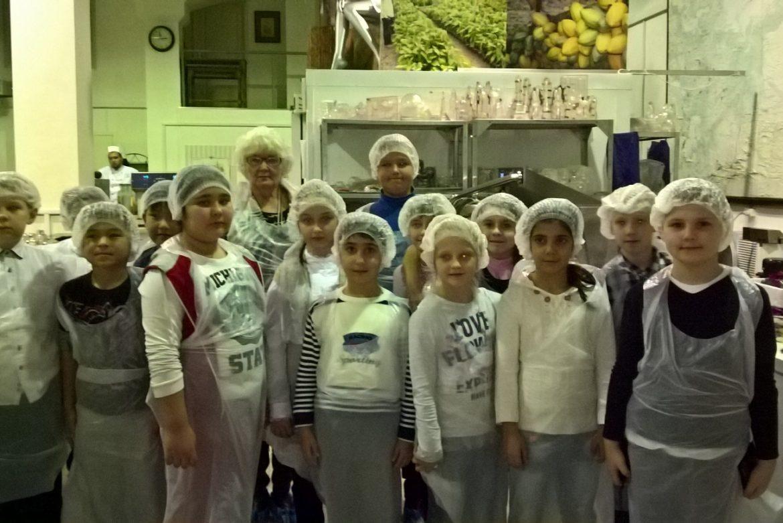Поездка на шоколадное производство