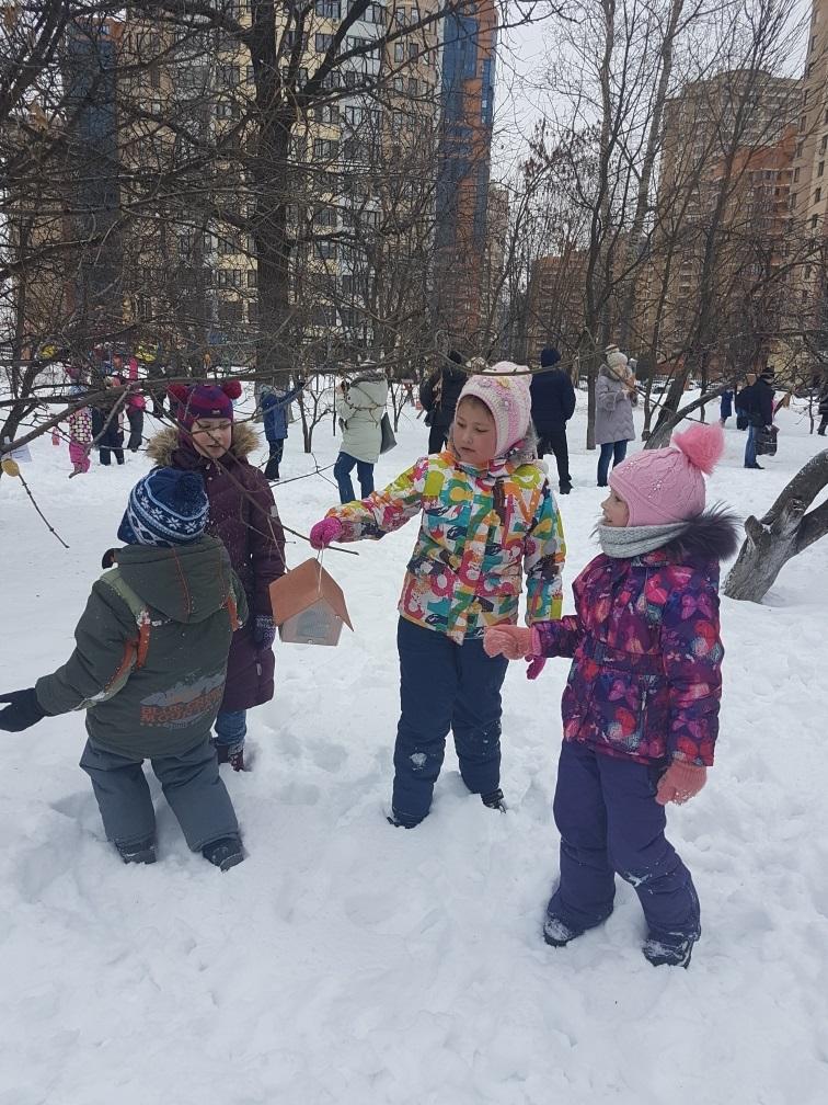 Городское мероприятие Покормите птиц зимой