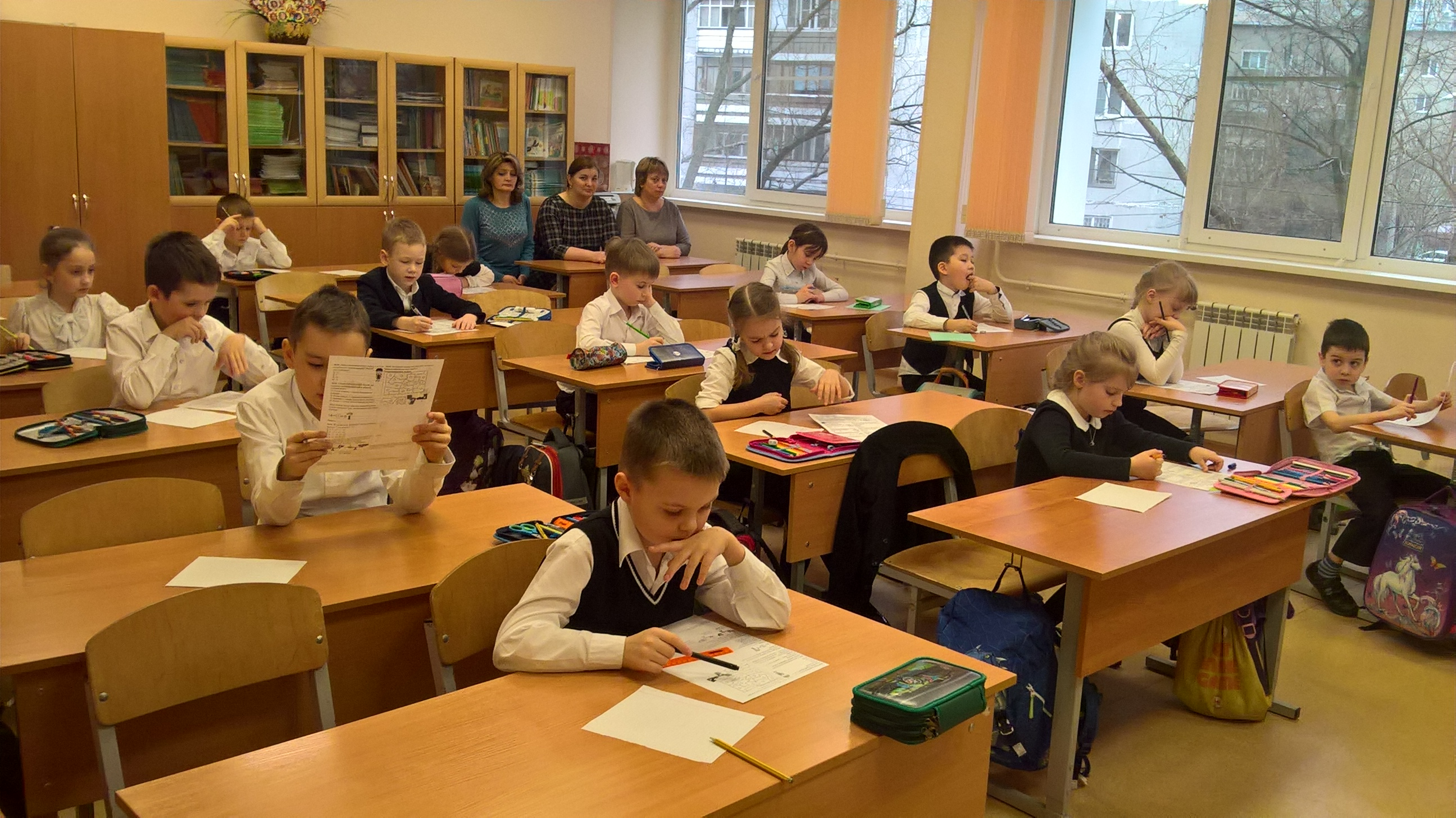 День математики в начальной школе